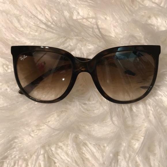6bb2e132f8fa6 norway womens ray ban cats 1000 cateye sunglasses rb4126 dimensions ...